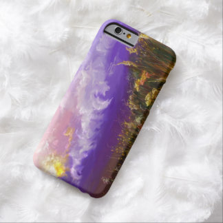 別のよい日の紫色の景色のiPhone6ケース Barely There iPhone 6 ケース