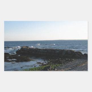 別のニューポートビーチ 長方形シール