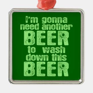 別のビールを必要とすることを行くこと メタルオーナメント