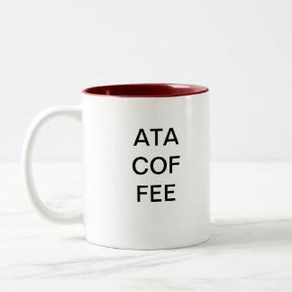 別の三文字頭字語-コーヒー ツートーンマグカップ