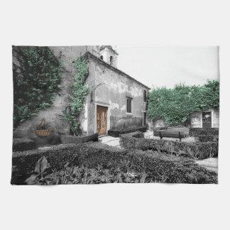別の庭-リスボンの台所タオル ハンドタオル