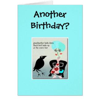 別の誕生日か。 カード