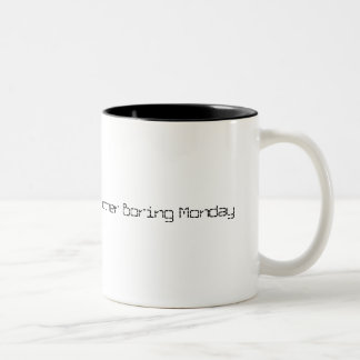 別の退屈な月曜日 ツートーンマグカップ