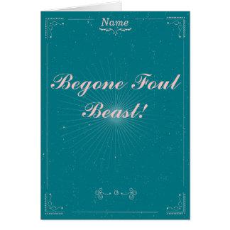 別れのカード- Begoneの汚れた獣 カード