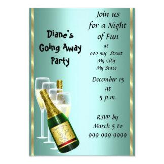 別れのパーティの招待状カードさようなら カード
