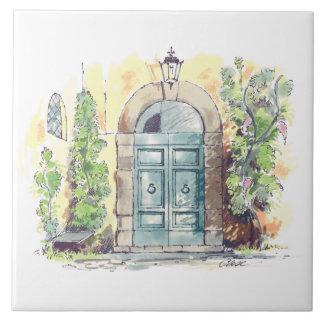 別荘のドアのセラミックタイル タイル