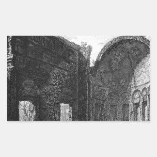 別荘アドリアーナに属するホールの残物 長方形シール