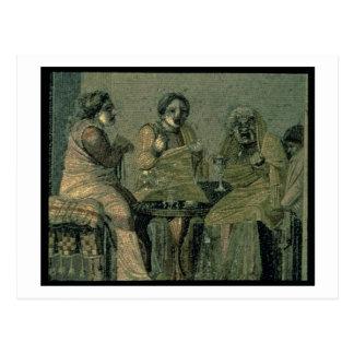 別荘キケロからの賢い女性そして彼女の患者、 ポストカード
