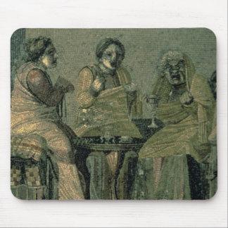 別荘キケロからの賢い女性そして彼女の患者、 マウスパッド