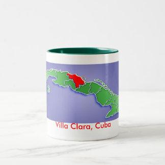 別荘クララ、キューバ ツートーンマグカップ