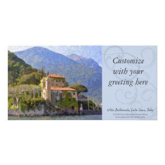 別荘Balbianelloの湖のComoのフォトカード カード