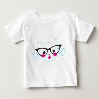 利発なCAT ベビーTシャツ