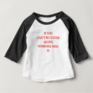 利発 ベビーTシャツ