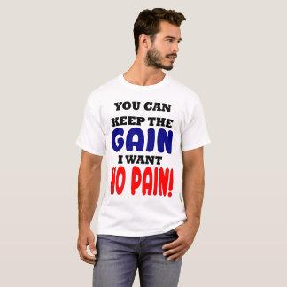 利益を保って下さい Tシャツ