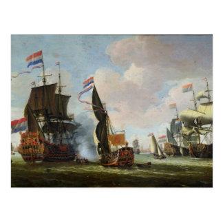 到着Michiel Adriaanszoon Ruyter ポストカード