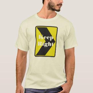 制御の交通か考え方か。 Tシャツ