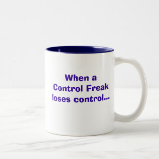 制御。 変種! ツートーンマグカップ