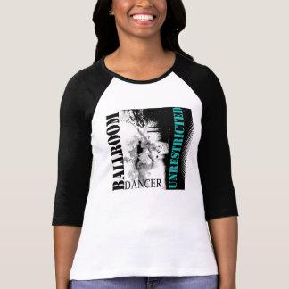 制限されていない社交ダンスのダンサーのTシャツ Tシャツ