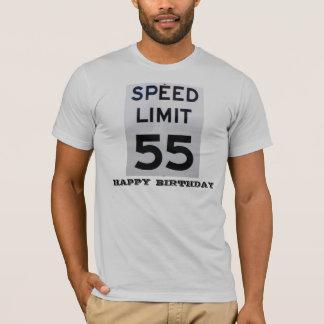 制限速度55の誕生日人のTシャツ Tシャツ