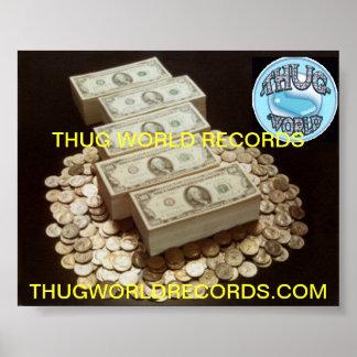 刺客の世界記録のお金 ポスター