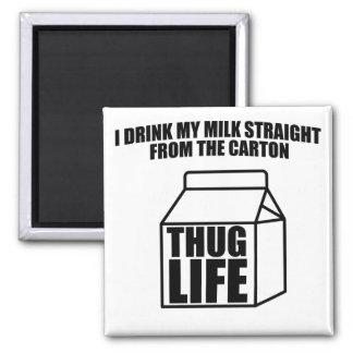 刺客の生命ミルクのカートン マグネット