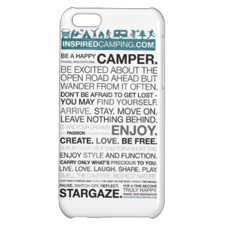 刺激を受けたなキャンプのiPhone 5の場合 iPhone5Cケース