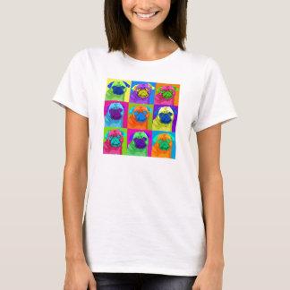 刺激を受けたなパグのワイシャツ Tシャツ