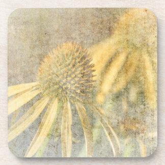 刺激を受けたなEchinaceaの庭の花 コースター