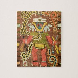 刺繍された神話的な姿、Paracas Necropoli ジグソーパズル
