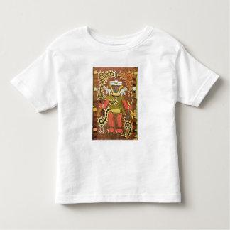 刺繍された神話的な姿、Paracas Necropoli トドラーTシャツ