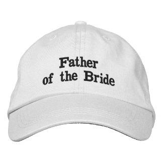 刺繍された調節可能な帽子 刺繍入りキャップ