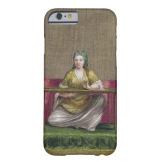 刺繍しているトルコの女の子18世紀(engravin barely there iPhone 6 ケース