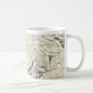 刺繍のマグ コーヒーマグカップ