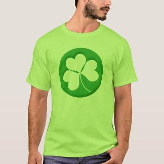 刻まれたシャムロックのTシャツ Tシャツ