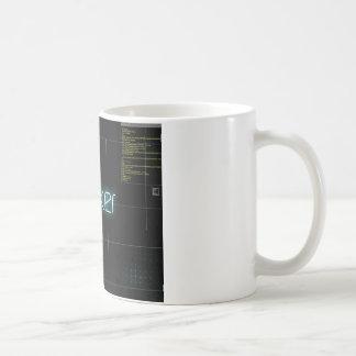 刻み目のTシャツ コーヒーマグカップ