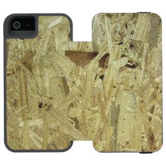 削片板のiPhoneの場合 iPhone SE/5/5sウォレットケース