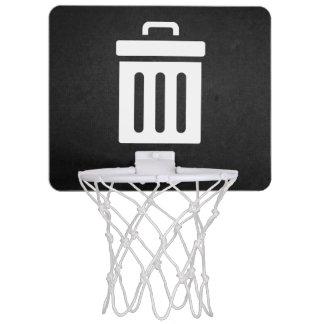 削除の大箱アイコン ミニバスケットボールゴール