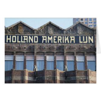前のHALのオフィス、ロッテルダム カード