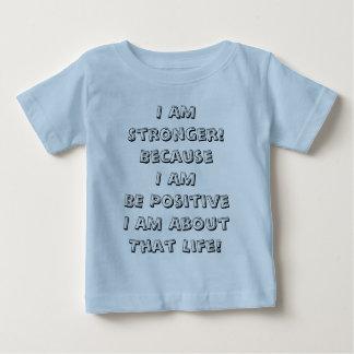 前向きがあって下さい ベビーTシャツ