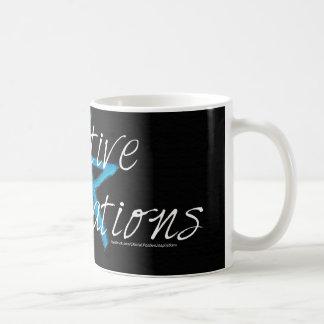 前向きなインスピレーションのギア コーヒーマグカップ
