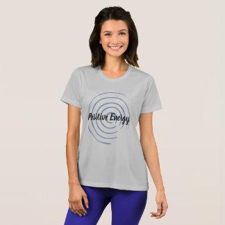 前向きなエネルギーTシャツは列車適合をインスパイア Tシャツ
