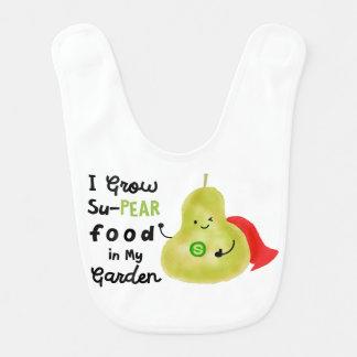 前向きなナシのしゃれ-私はSuPearの食糧を育てます ベビービブ
