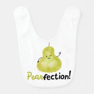 前向きなナシのしゃれ- Pearfection ベビービブ