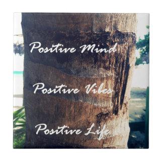 前向きな心、前向きなVibe、前向きな生命 タイル