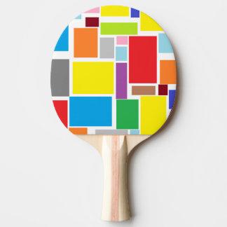前向きな感情のカラフルのブロックの卓球ラケット 卓球ラケット