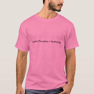 前向きなTシャツ Tシャツ