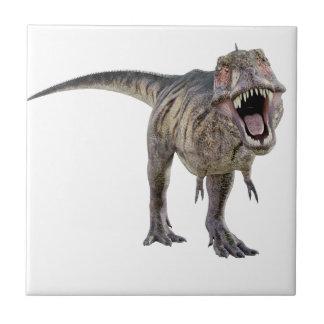 前方にとどろくティラノサウルス・レックスのレックス タイル