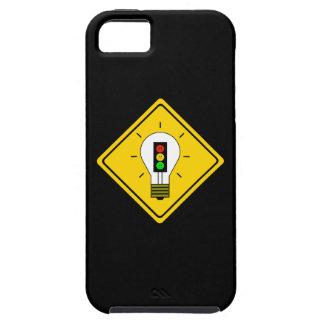 前方の不機嫌な信号の電球 iPhone SE/5/5s ケース