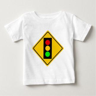 前方の信号 ベビーTシャツ