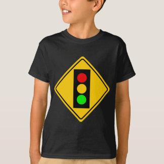 前方の信号 Tシャツ